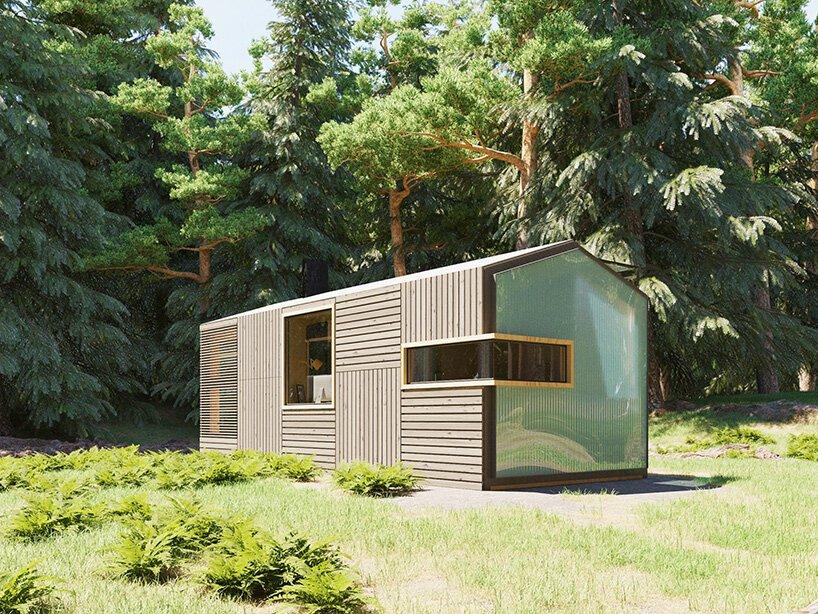 Casa pré-fabricada inspirada no Minecraft