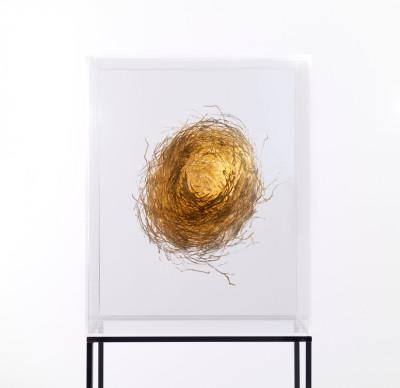 Escultura de Isabel Alonso Vega por 5.500 euros (40x50x25 cm)