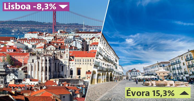 Lisboa foi a cidade onde as rendas das casas mais desceram e Évora onde mais subiram / Freepik