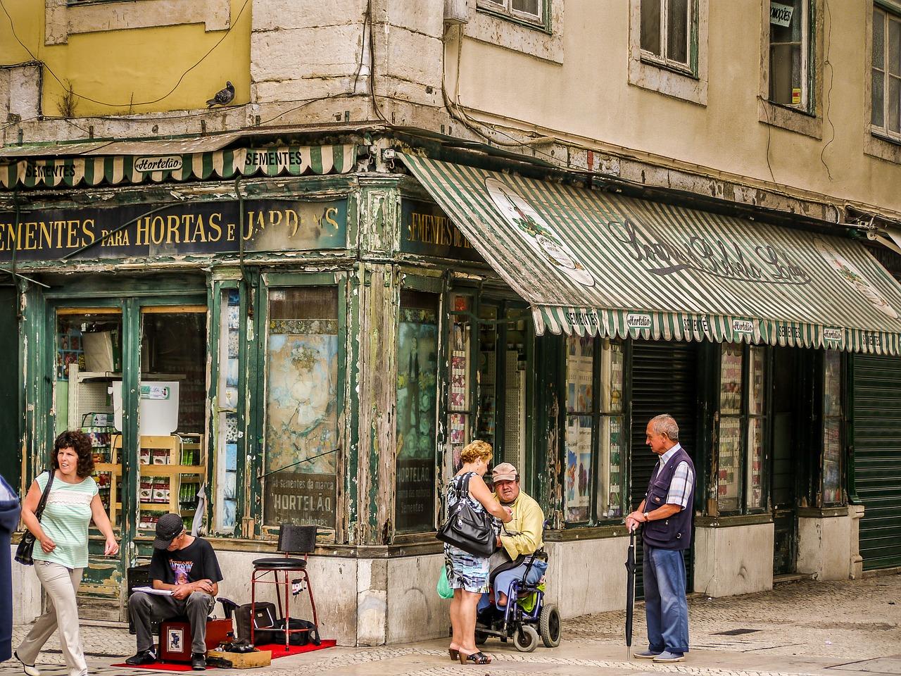 Investimento em comércio de rua Lisboa