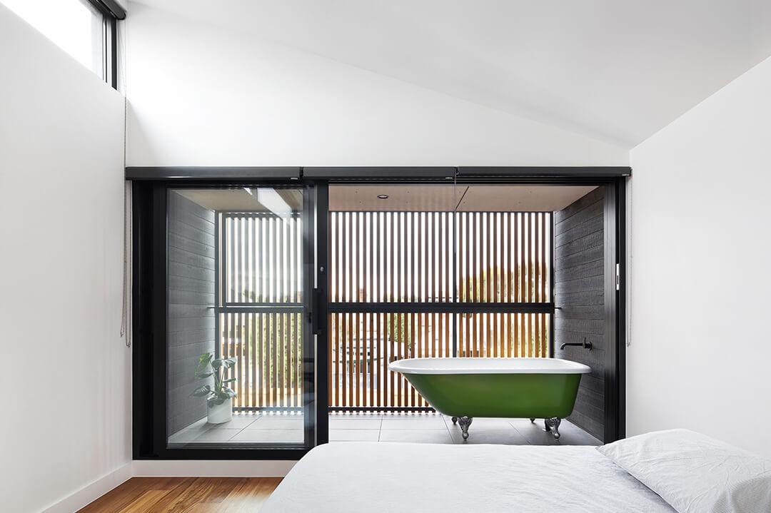 Casa pré-fabricada St Kilda em Melbourne