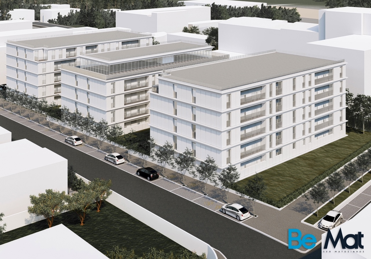 Renda acessível: Matosinhos terá empreendimento com 140 apartamentos