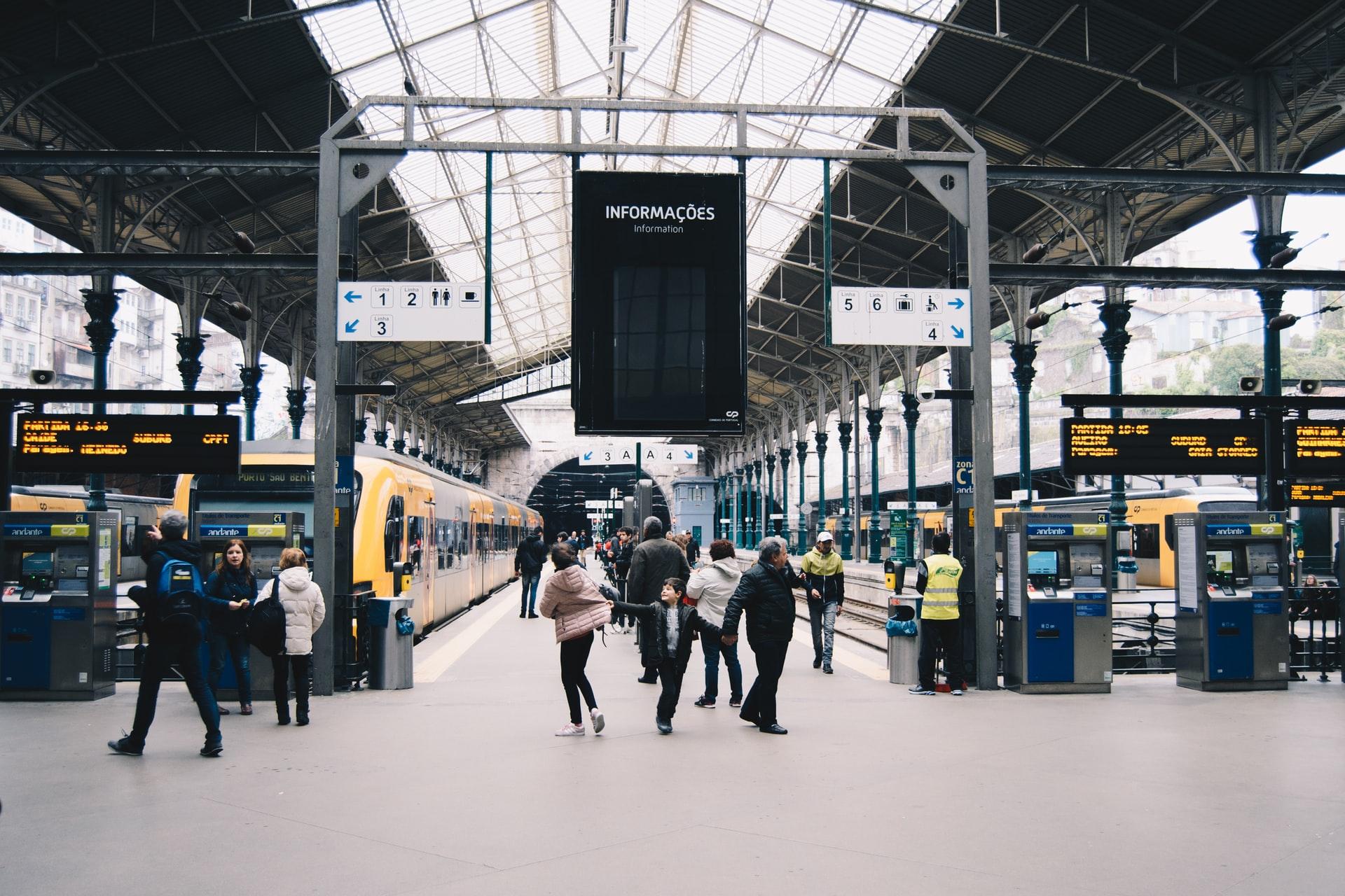 Investimento em comboios em Portugal