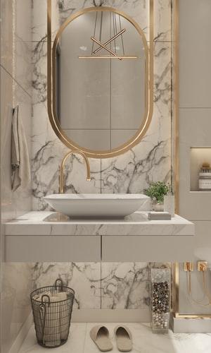 Decorar casas de banho pequenas