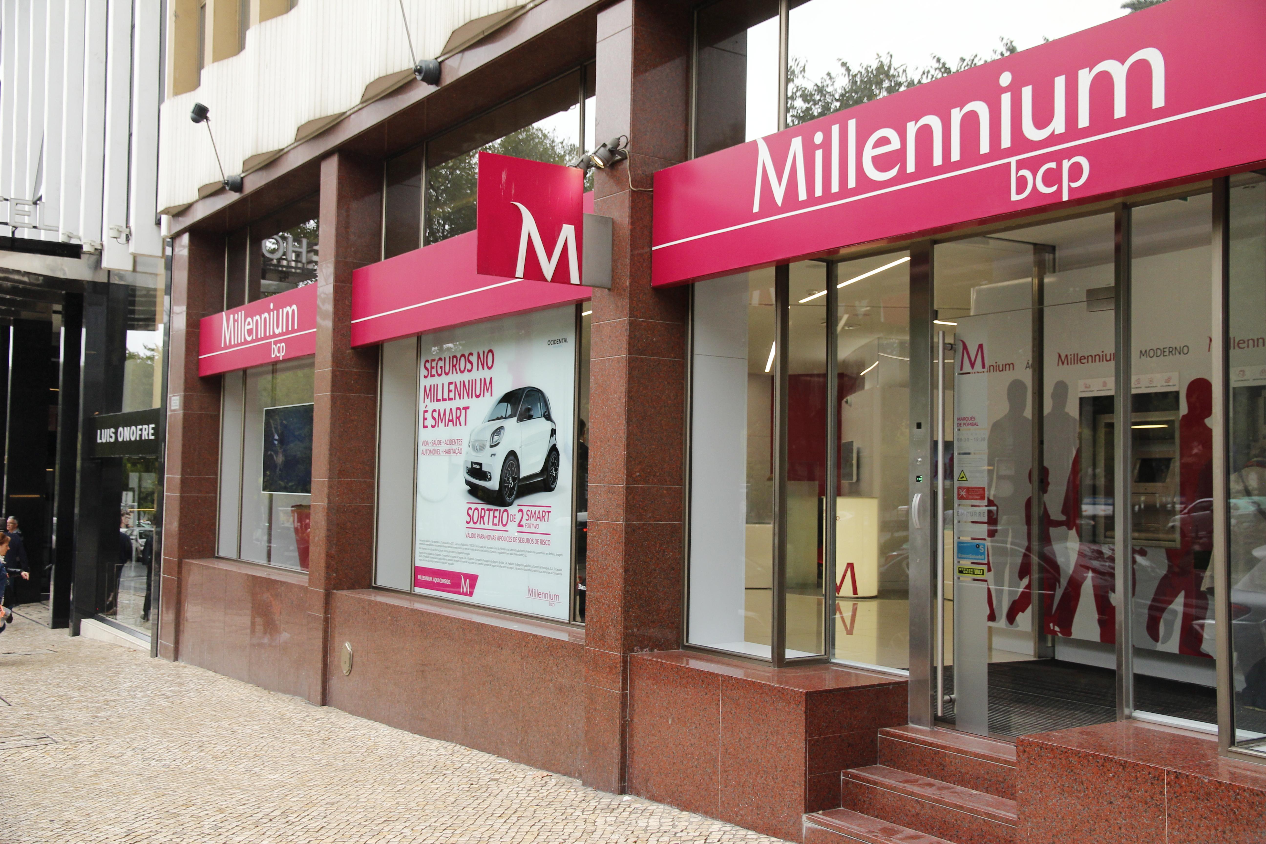 Lucros dos ccinco principais bancos sediados em Portugal