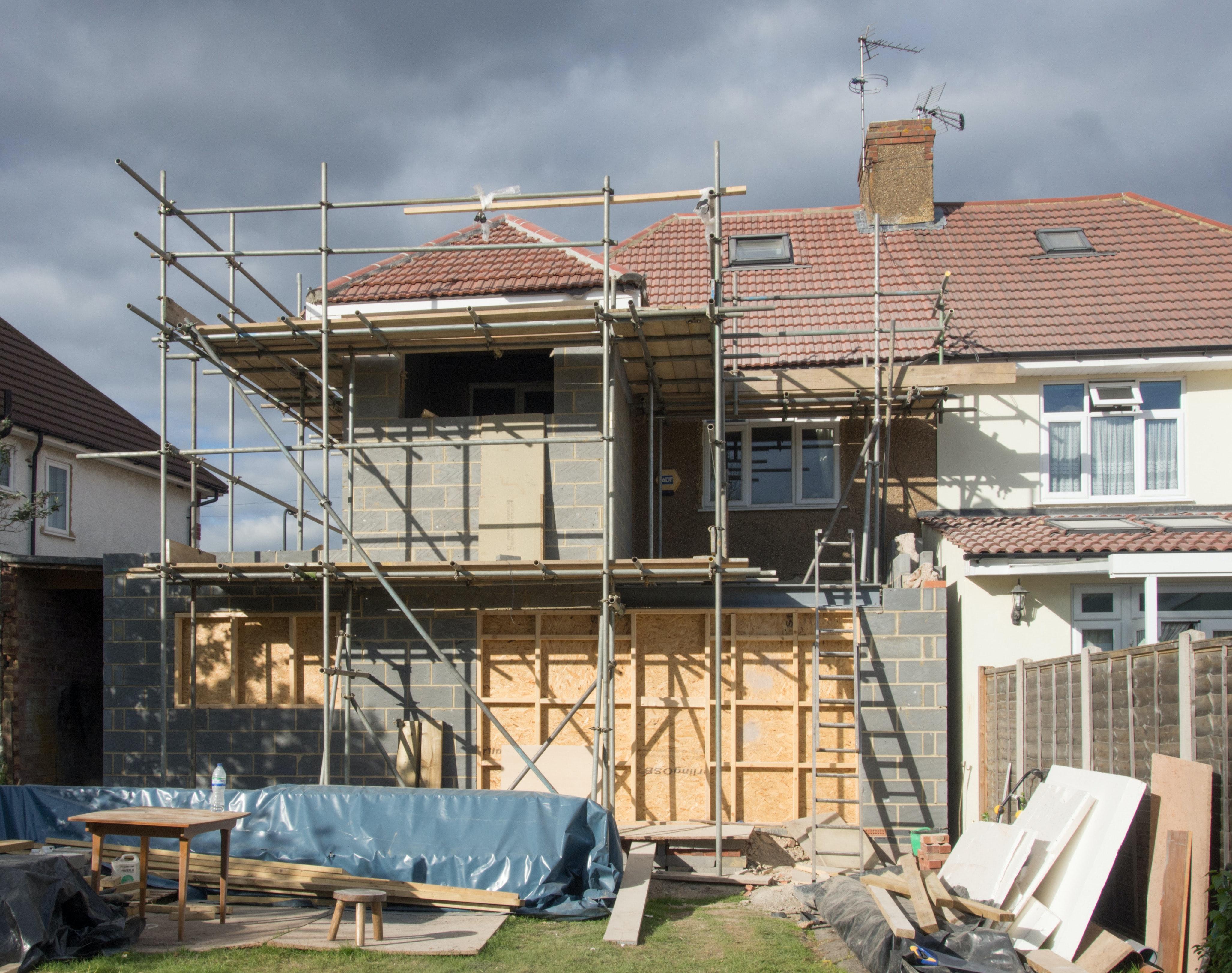 Crédito para a construção de casas