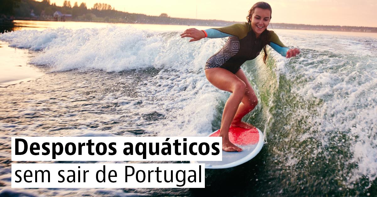 Desportos aquáticos em Portugal