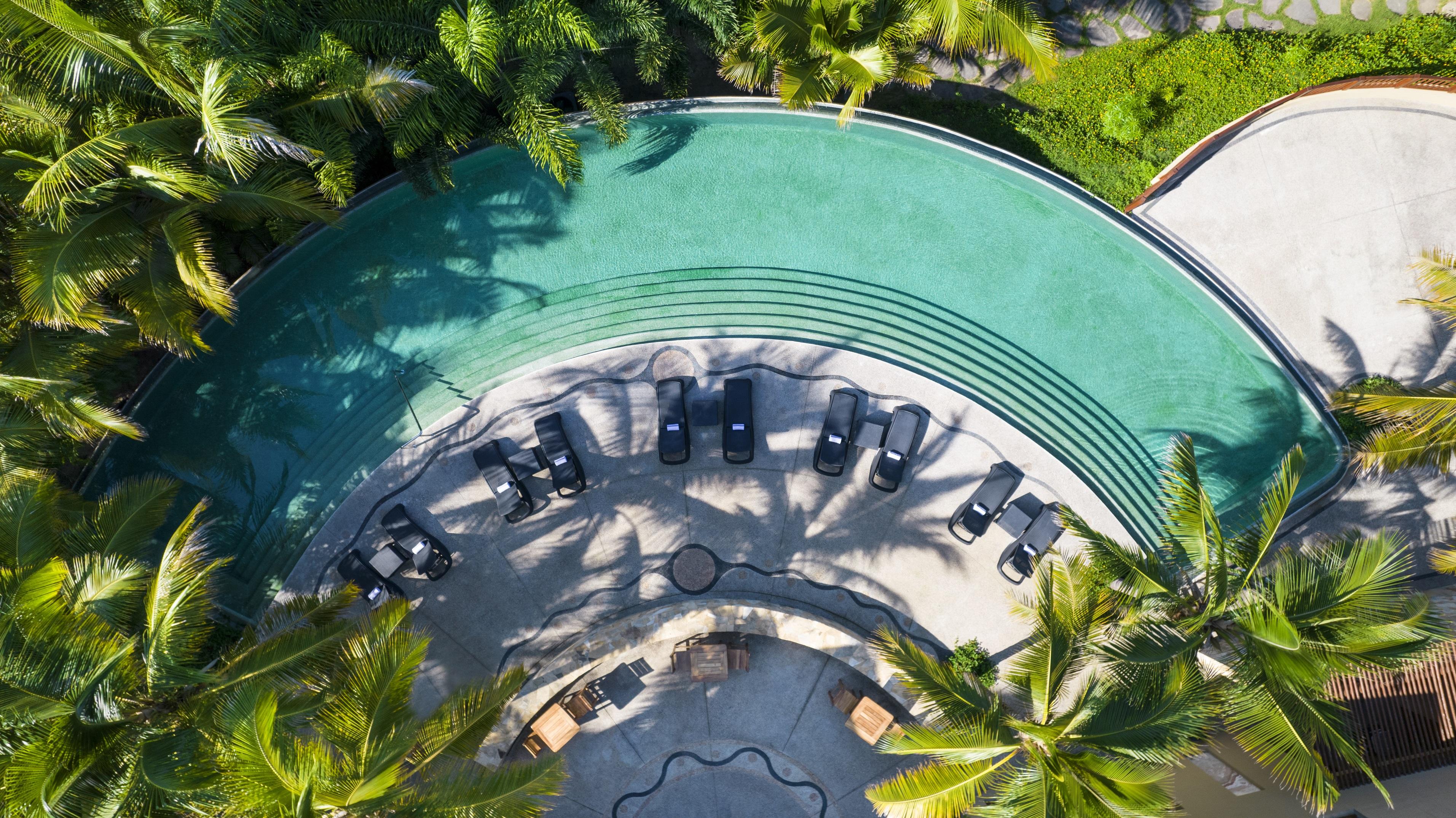 Hotel de luxo Riviera Nayarit no México
