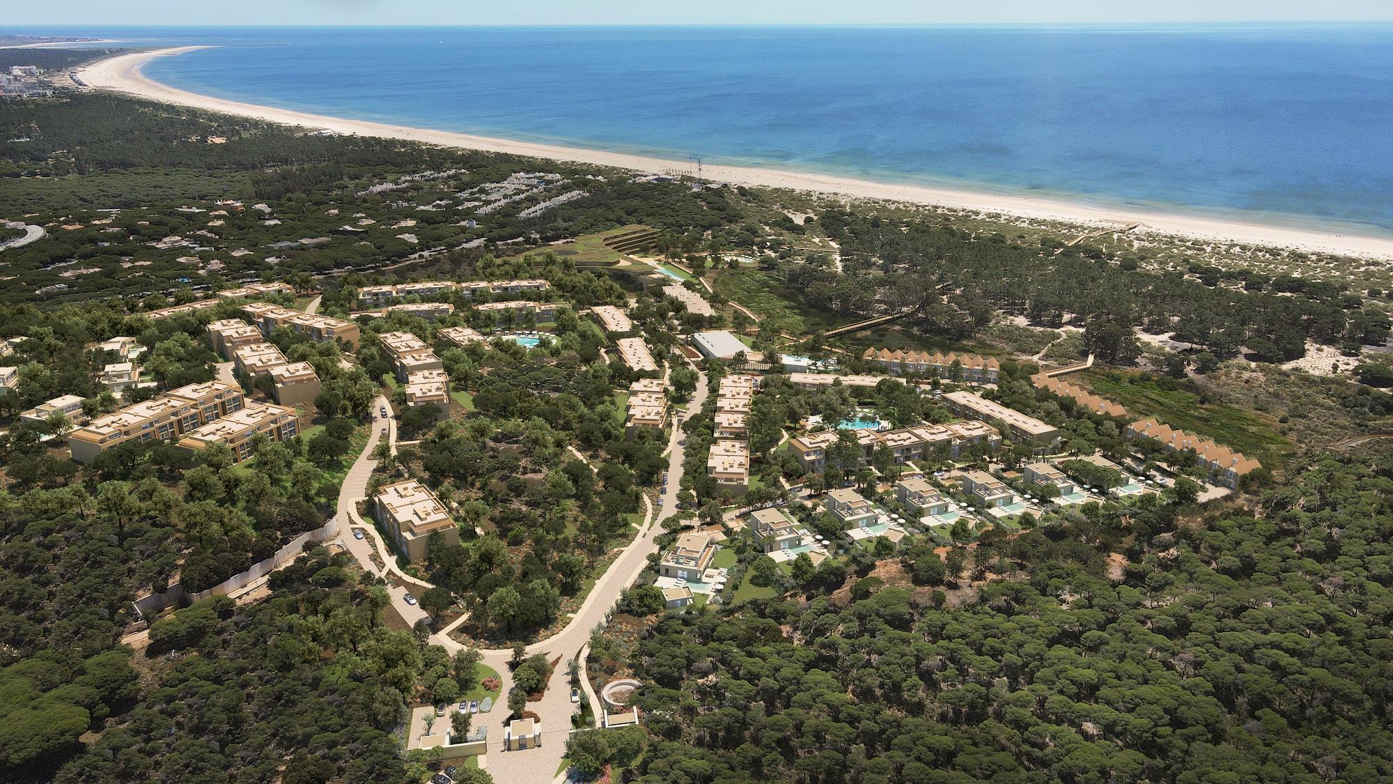 Vai nascer um novo resort de 5 estrelas junto à Praia Verde no Algarve