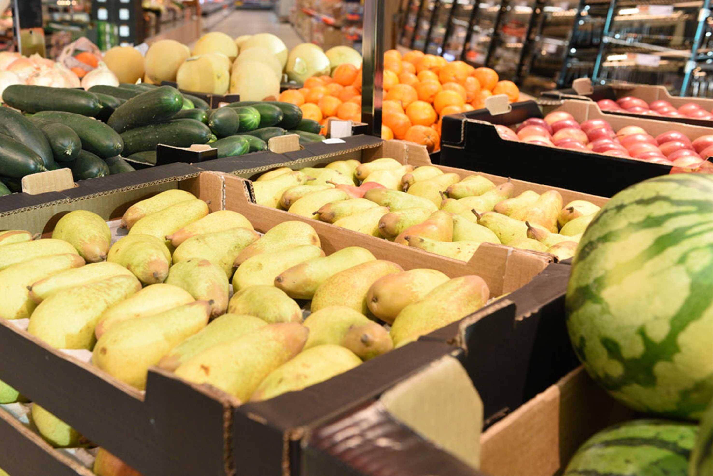 Loja Lidl (frutas e legumes) / Créditos: Lidl Portugal