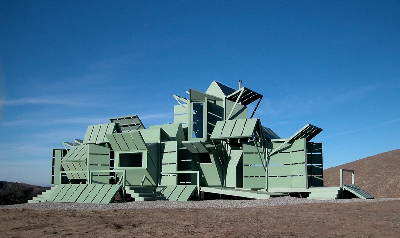 'M-house' do arquiteto Michael Jantzen