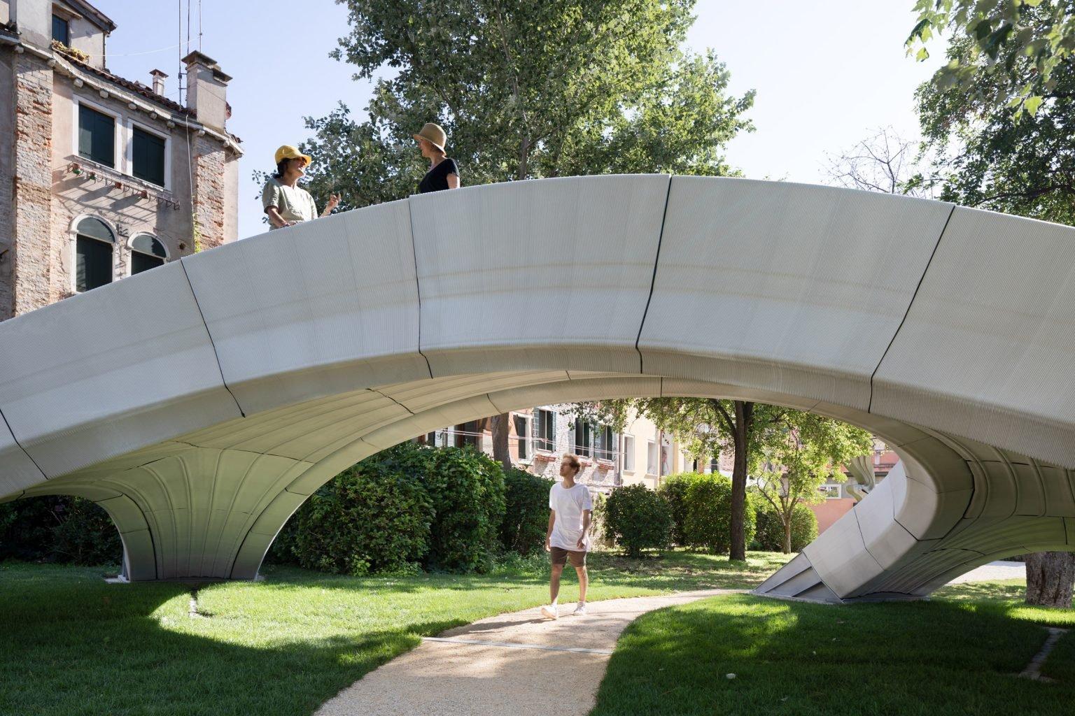 Ponte Striatus impressa em 3D