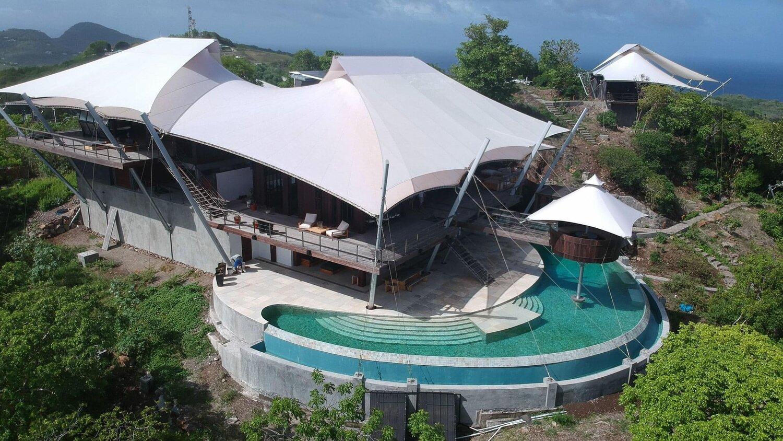 Casas pré-fabricada nas Caraíbas