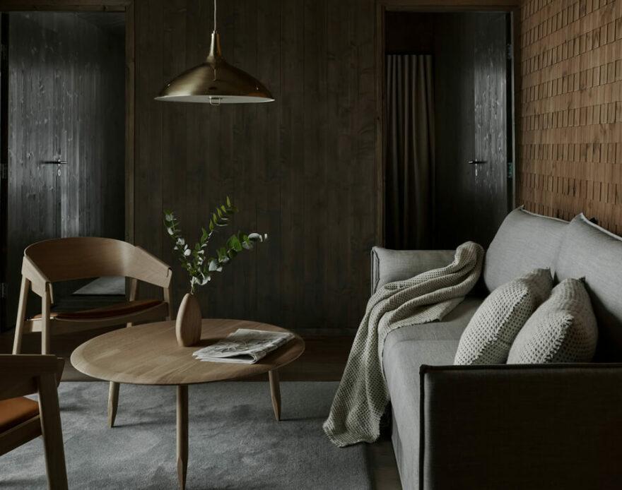 Resort de casas pré-fabricadas na Finlândia