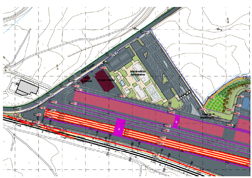Projeto de terminal ferroviário da Medway