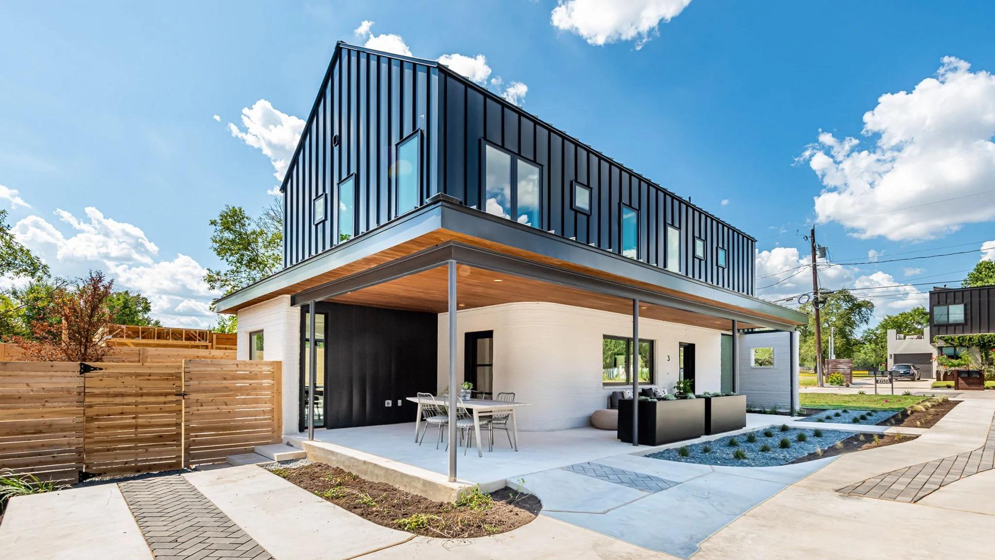 Casas impressas em 3D