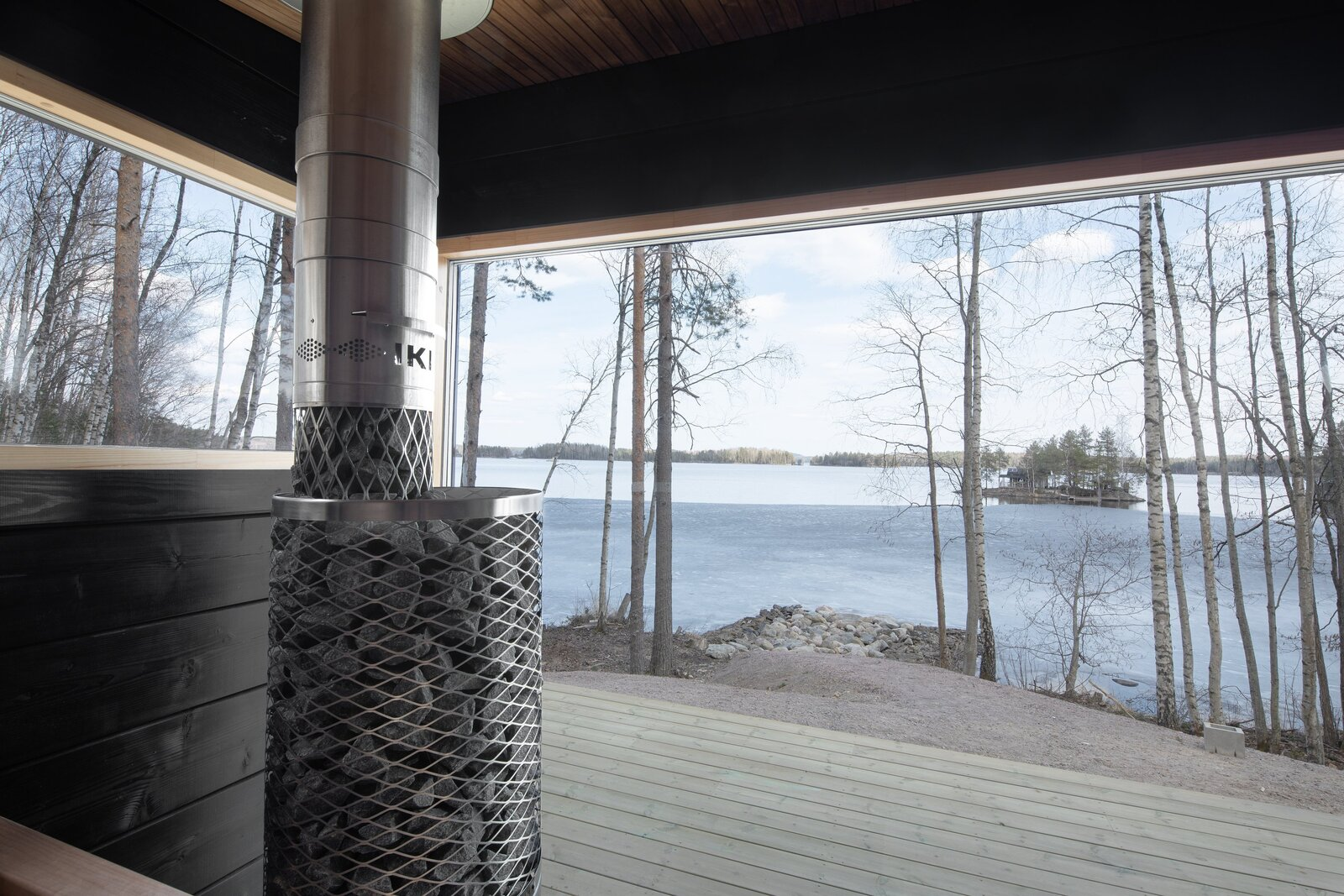 Casa pré-fabricada na Finlândia