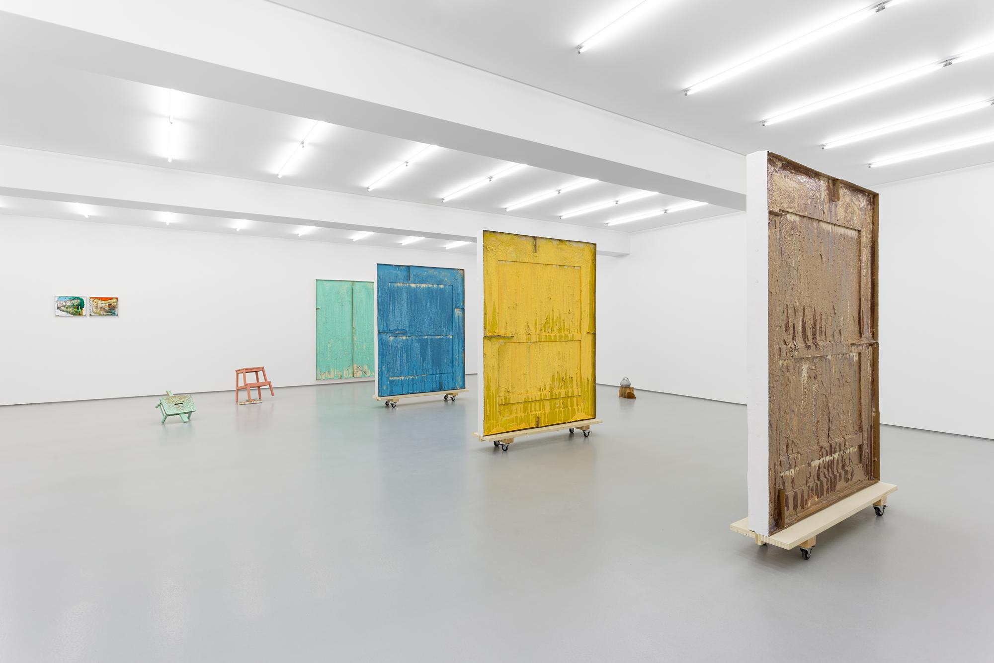 """""""Casa"""", Carlos Bunga, Galeria Vera Cortês, 2021 /  Carlos Bunga"""