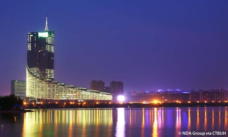 Arranha-céus em espiral na China