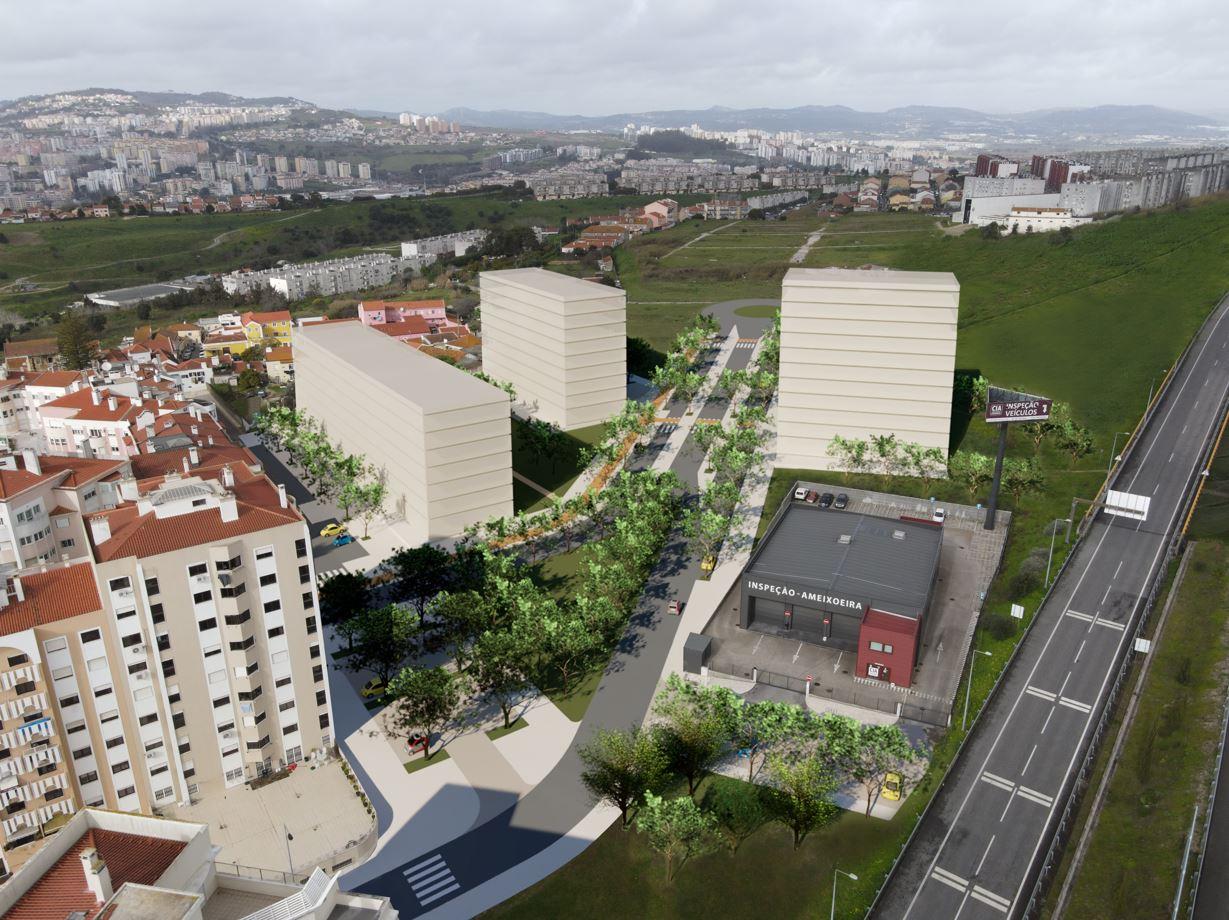 Terreno à venda em Lisboa com projeto aprovado