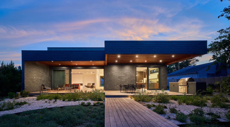 Casa pré-fabricada sustentável
