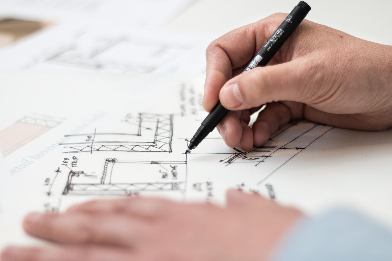 Projeto de arquitetura da casa