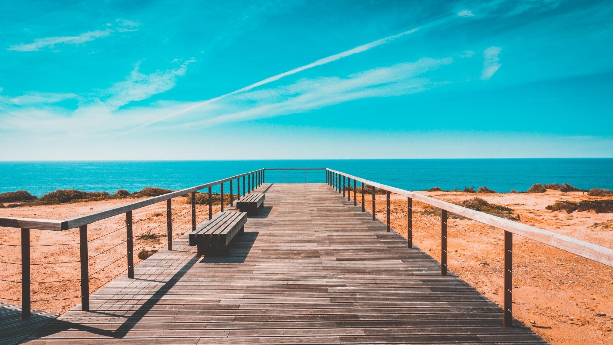 Praia em Portugal