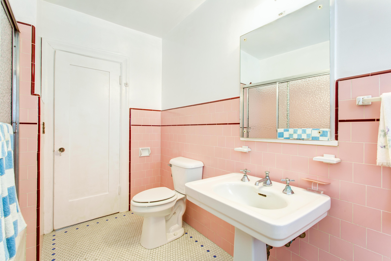 Escolher o revestimento da casa de banho vintage