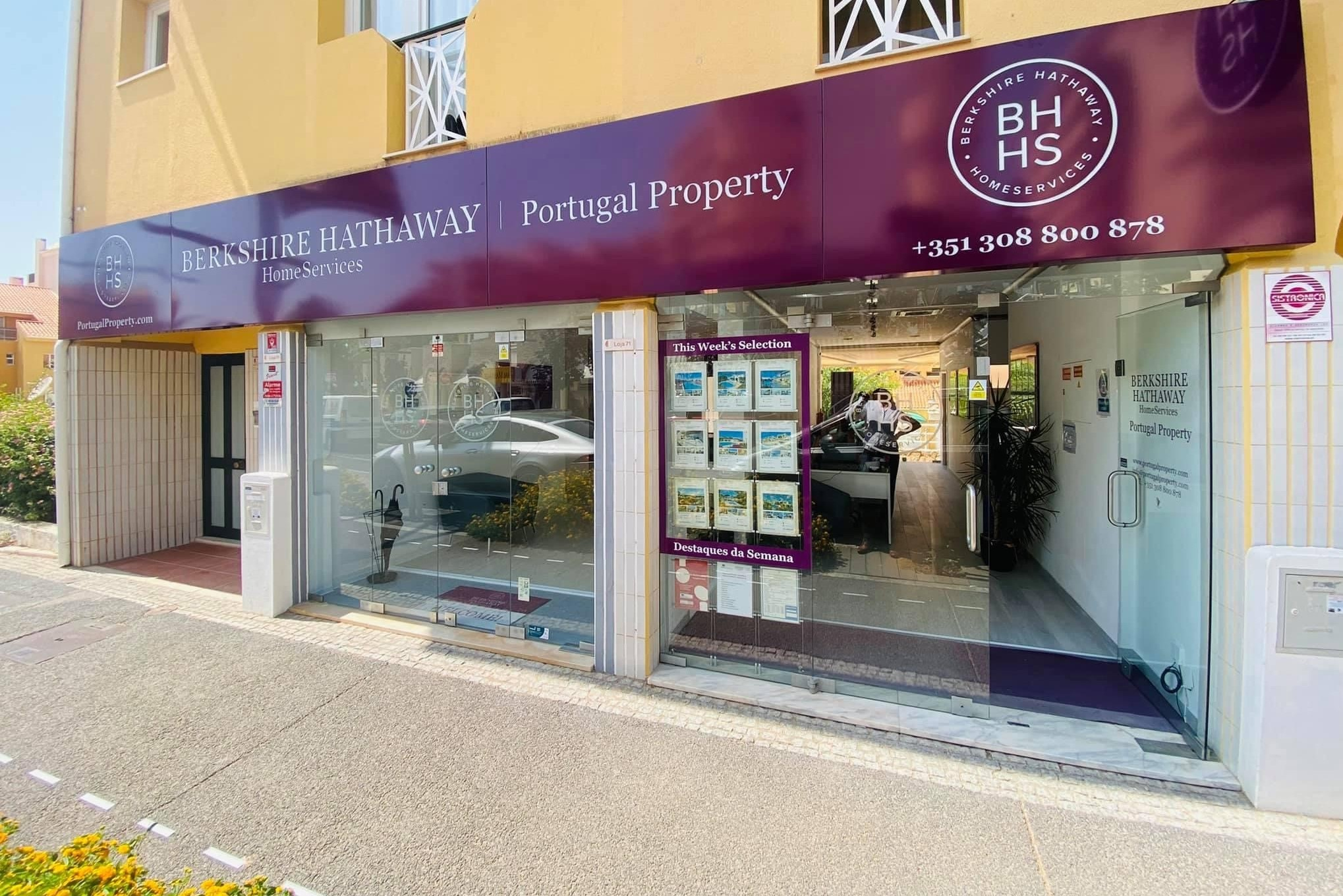 O novo espaço em Vilamoura, Algarve / Berkshire Hathaway HomeServices | Portugal Property