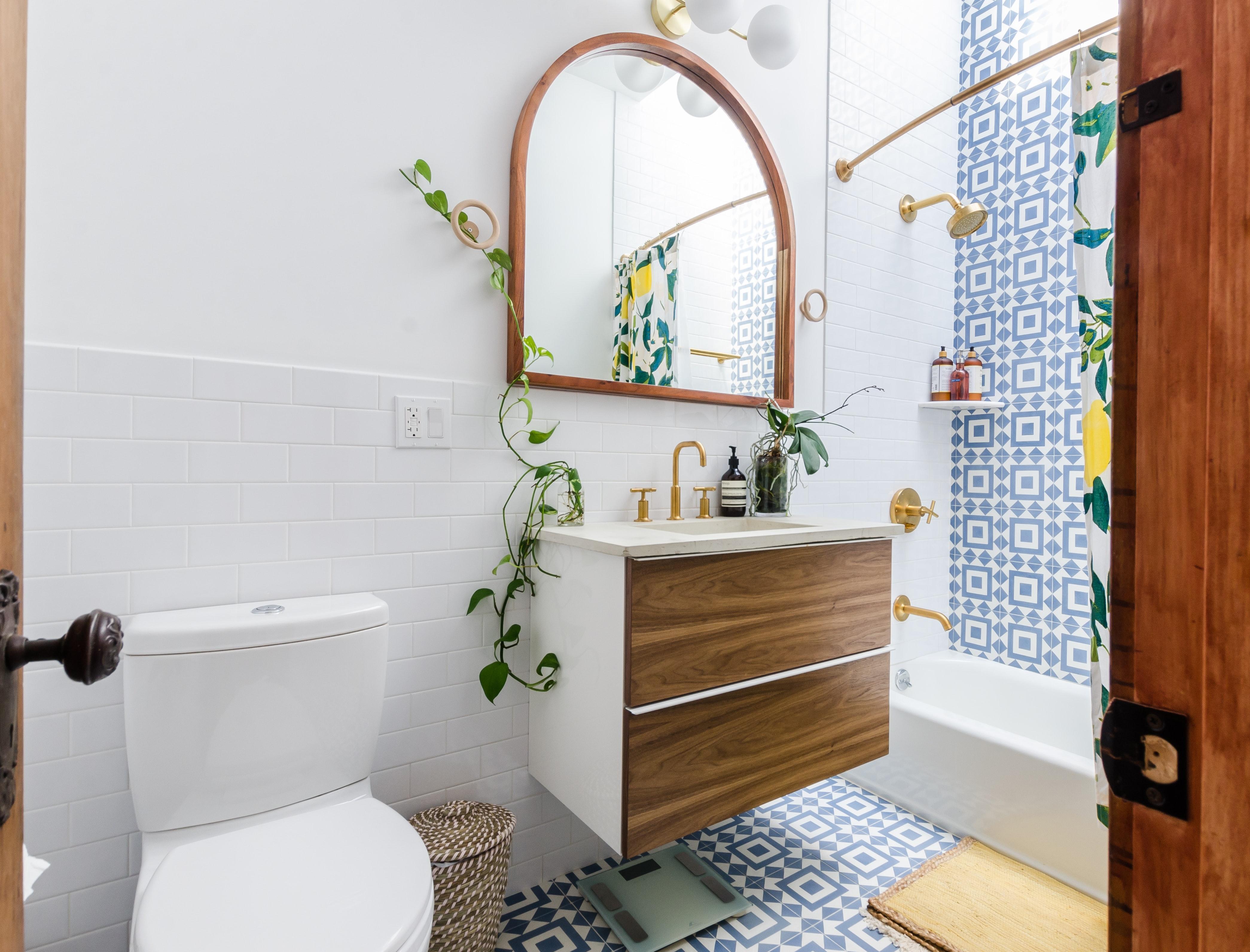 Revestimentos da casa de banho