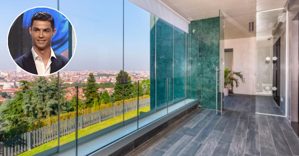 Casa de Ronaldo em Turim