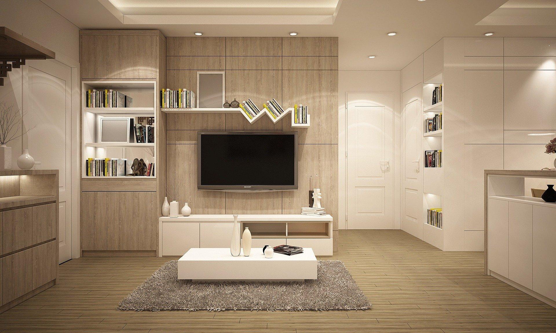 Decoração da sala
