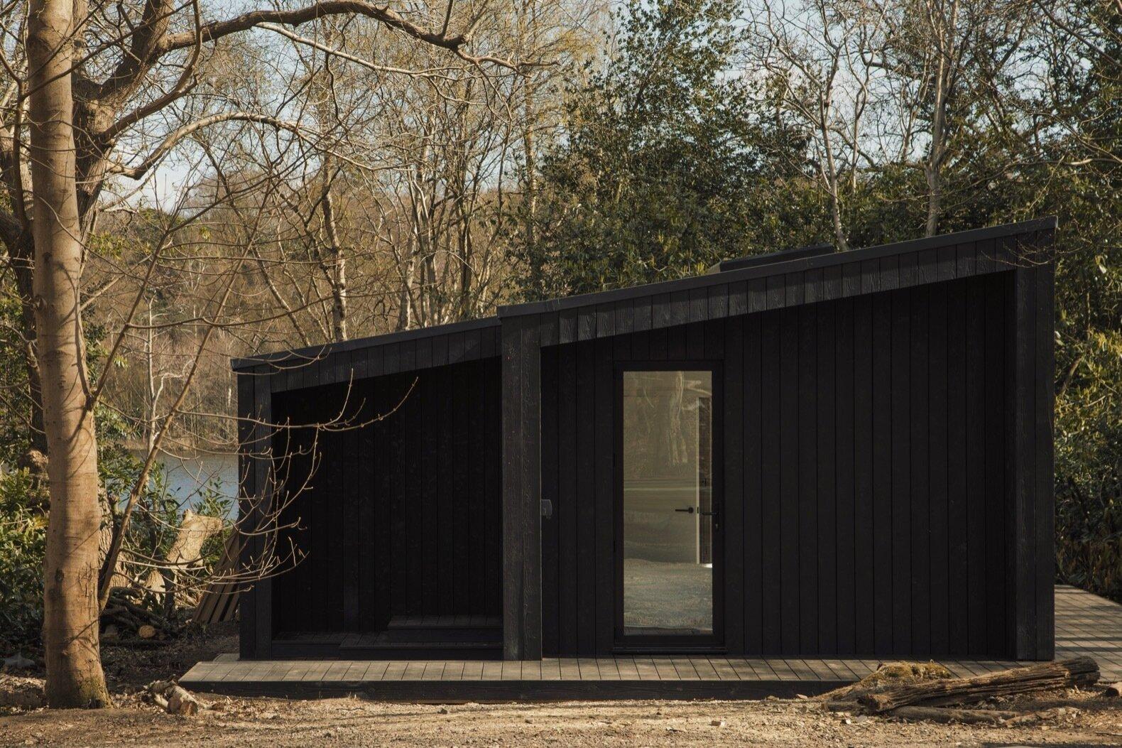 Ecoturismo de casas pré-fabricadas