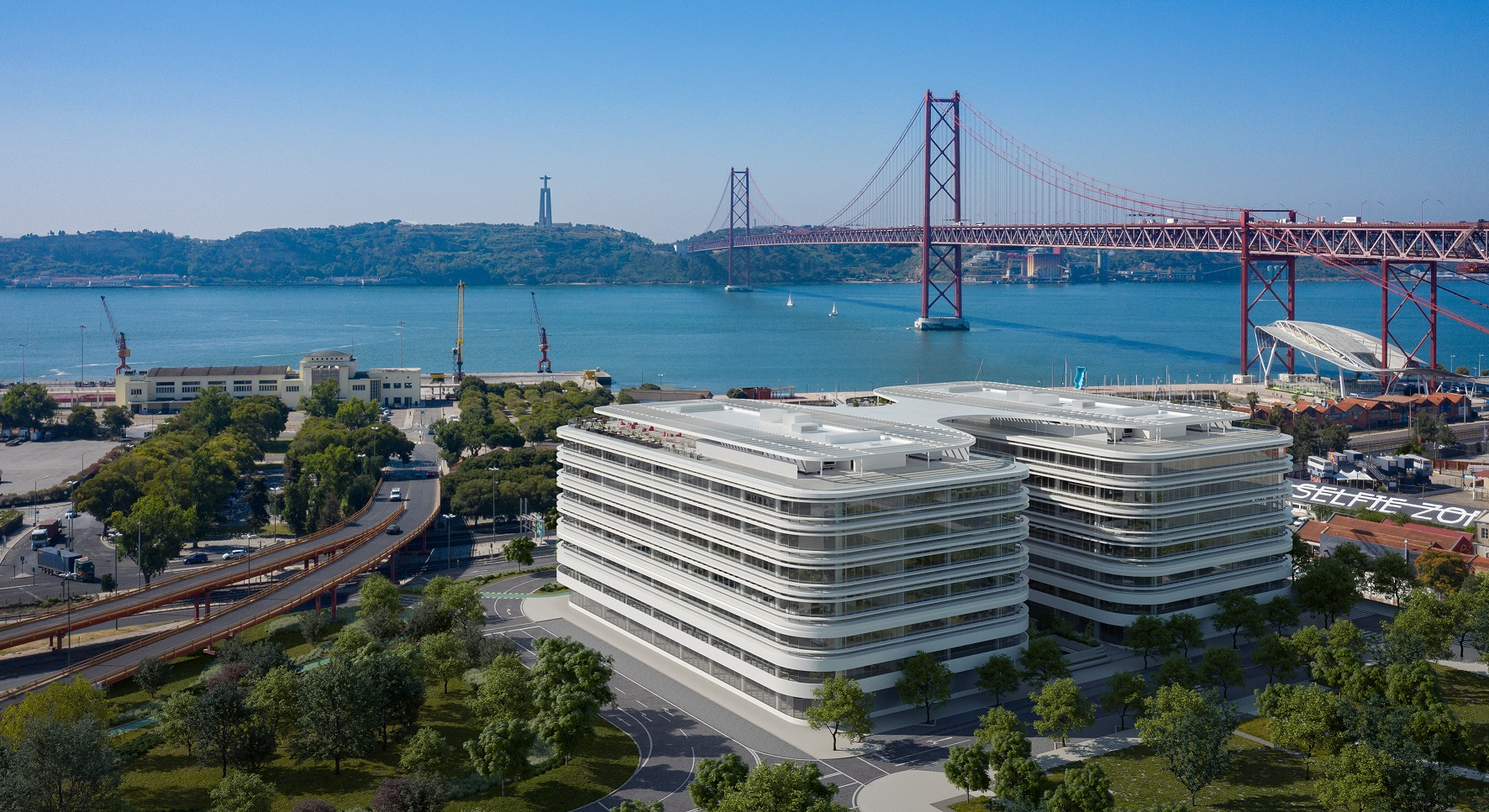 Novos escritórios em Alcântara