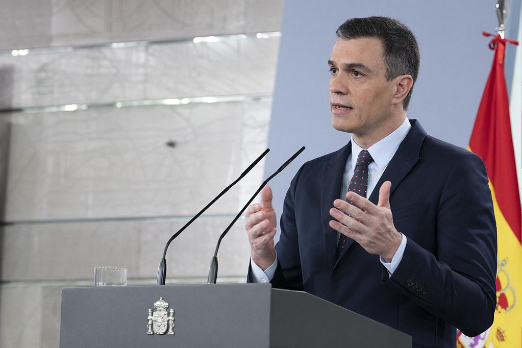 Pedro Sánchez lidera o governo de esquerda do país vizinho. / Flickr