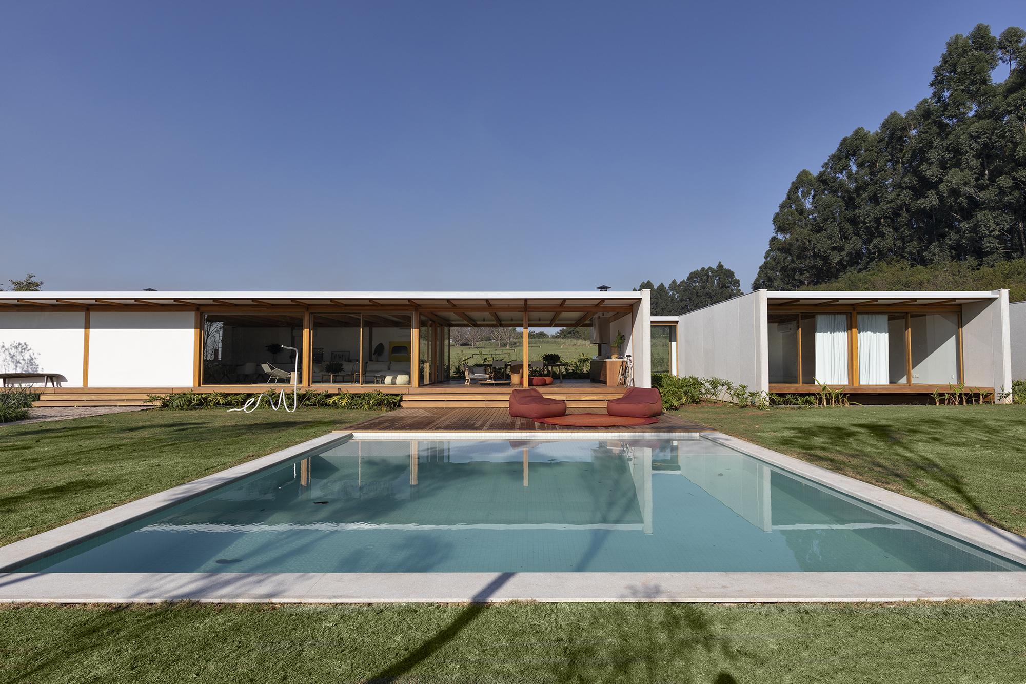 Casa pré-fabricada de 500 m2
