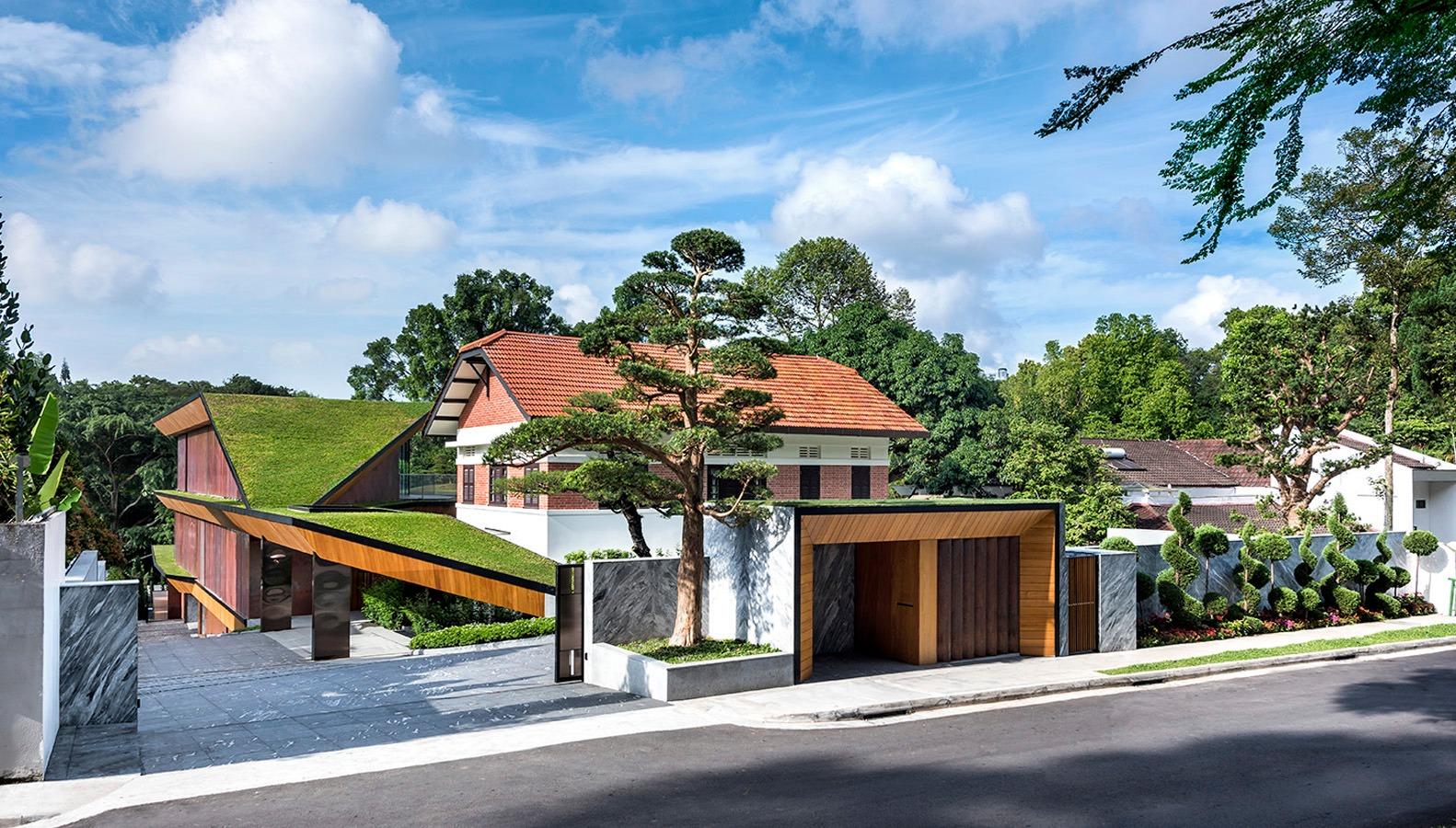 Casa de sonho em Singapura