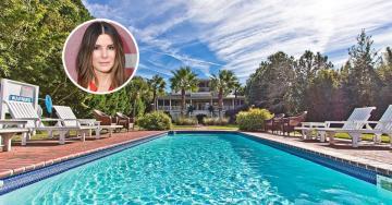 Sandra Bullock está a vender casa de praia na Geórgia por 5,8 milhões