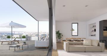 Comprar um T0 com vista para o rio Tejo (no LUMIA Lisbon Apartments) custa 250 mil euros