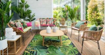 Desfruta do bom tempo: truques e ideias para decorar o terraço da casa