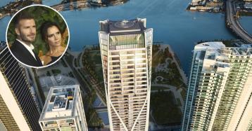 Família Beckham procura um novo lar em Miami... no arranha-céus projetado por Zaha Hadid