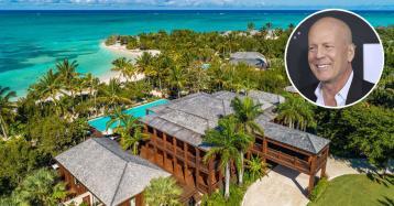 Bruce Willis vende mansão nas Caraíbas por 24 milhões de euros