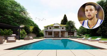 Campeão da NBA Stephen Curry compra casa de luxo de 28,3 milhões na Califórnia