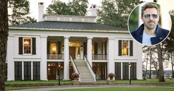 Ben Affleck vende mansão de luxo na Geórgia por 6,9 milhões de euros