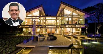 Antonio Banderas pagou três milhões de euros por esta luxuosa casa pré-fabricada