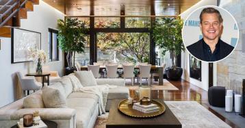 Matt Damon vende mansão de luxo em Los Angeles por 17,2 milhões