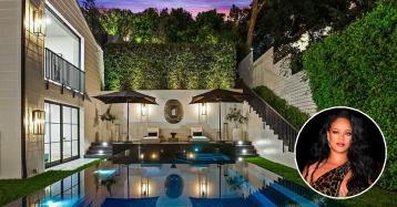 Rihanna compra luxuosa mansão em Beverly Hills por 11,3 milhões