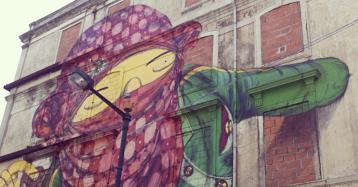 Novo projeto imobiliário nos icónicos edifícios dos grafittis em Lisboa