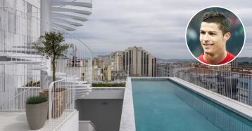 Ronaldo tem 15 dias para tirar marquise do apartamento de luxo em Lisboa