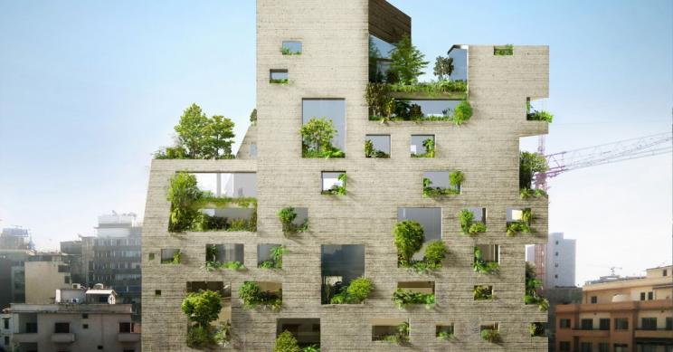 Stone Garden, um edifício curioso que está a ser construído em Beirute